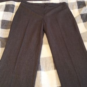 B2G1! Tahari Size 2 Grey Women's Work Pant